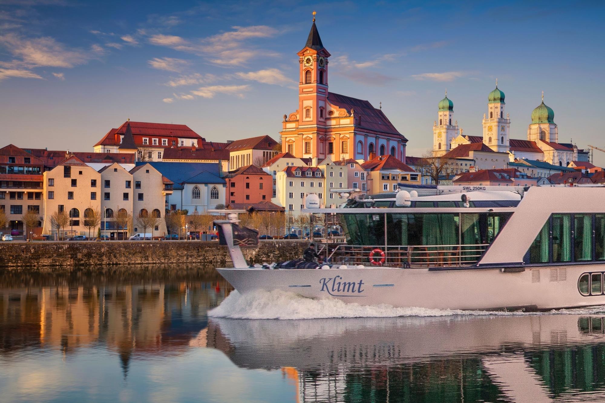 MS Klimt in Passau