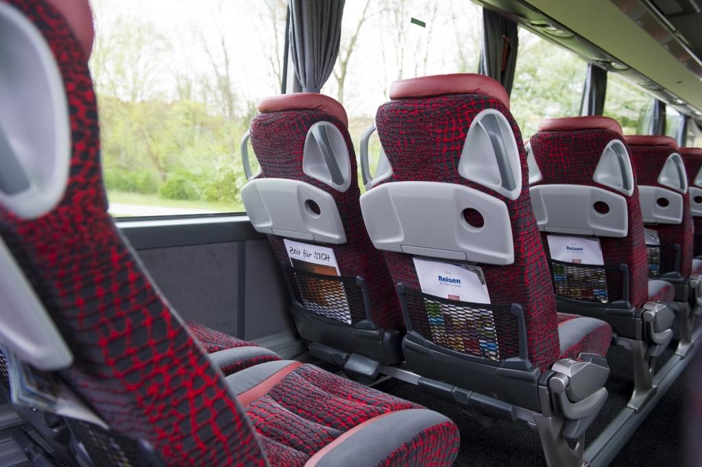 RETTER Bus, Sitzabstand