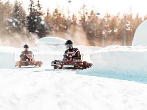 Finnland, Icekarting