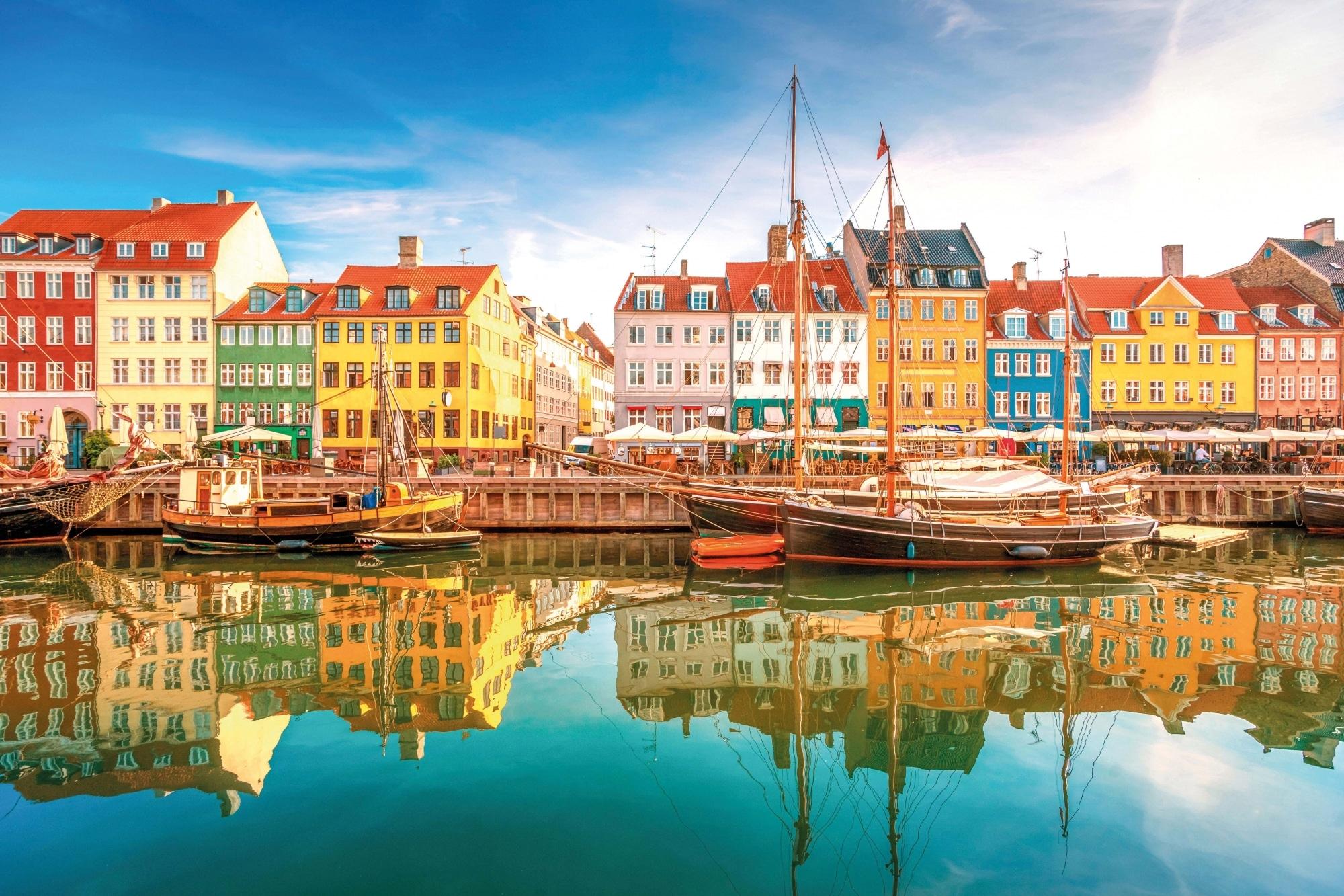 Dänemark, Nyhavn Kopenhagen