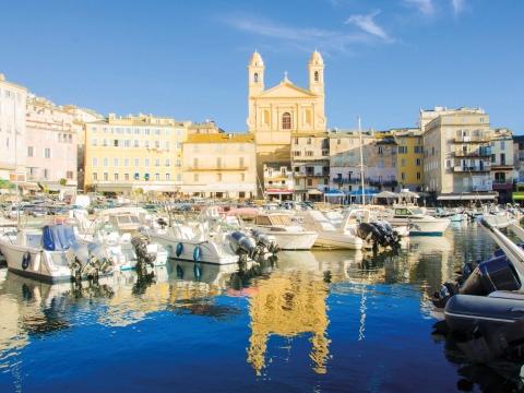 Korsika, Hafen von Bastia
