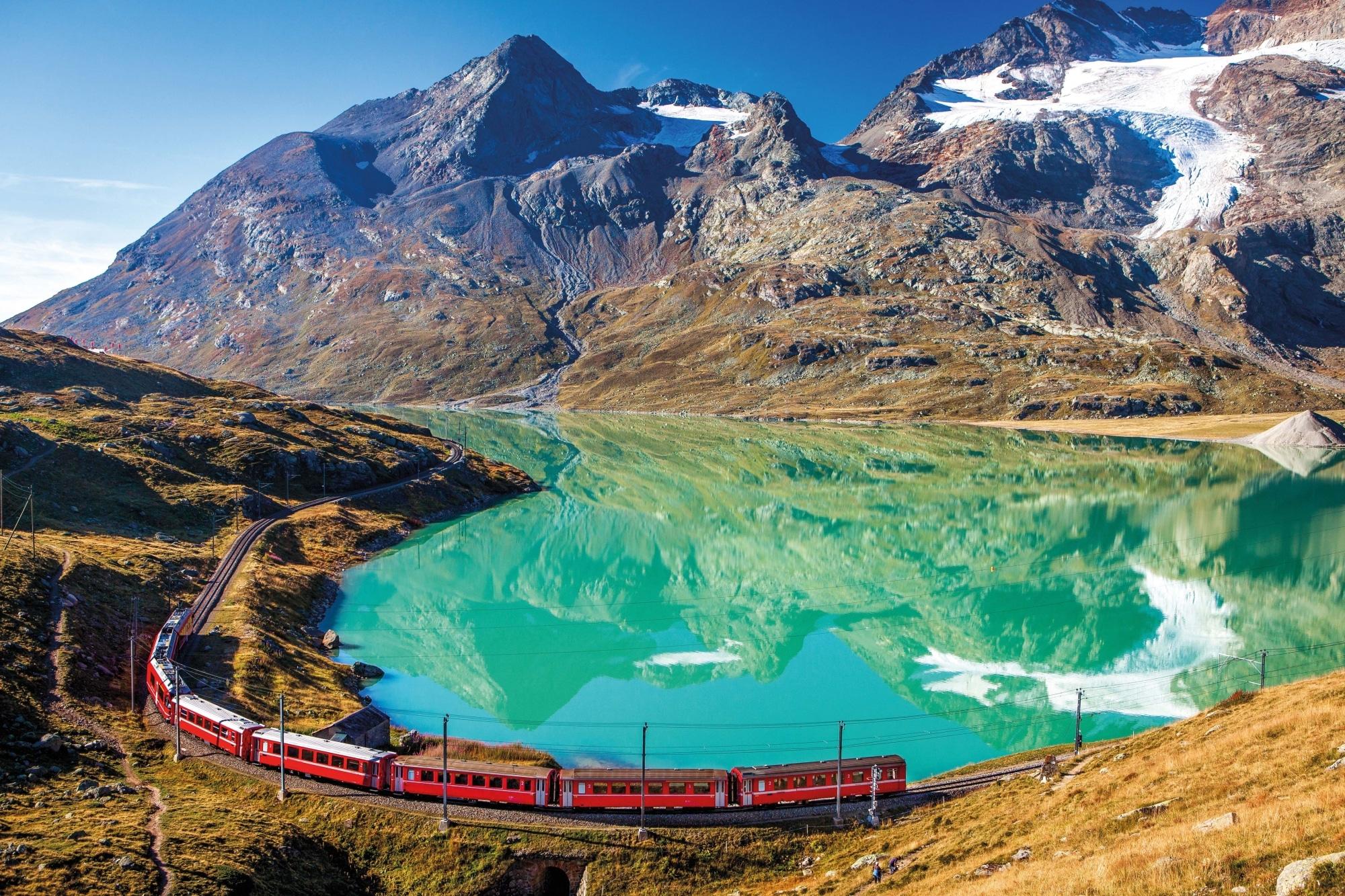 Schweiz, Berninapass