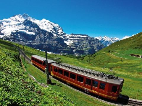 Schweiz, Jungfraujoch