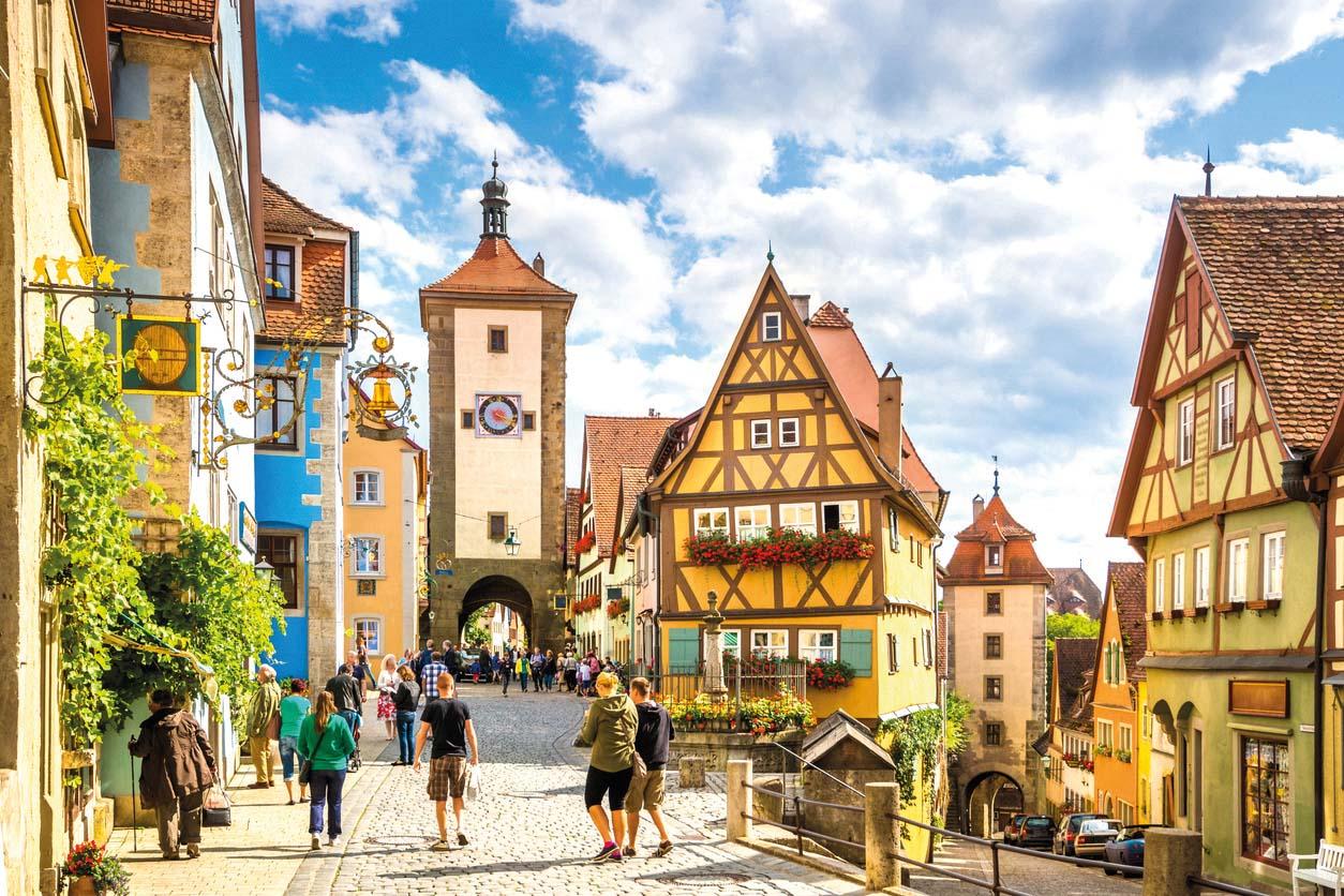 Romantische Straße, Rothenburg ob der Tauber