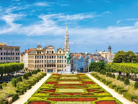 Flandern, Monte des Art, Brüssel