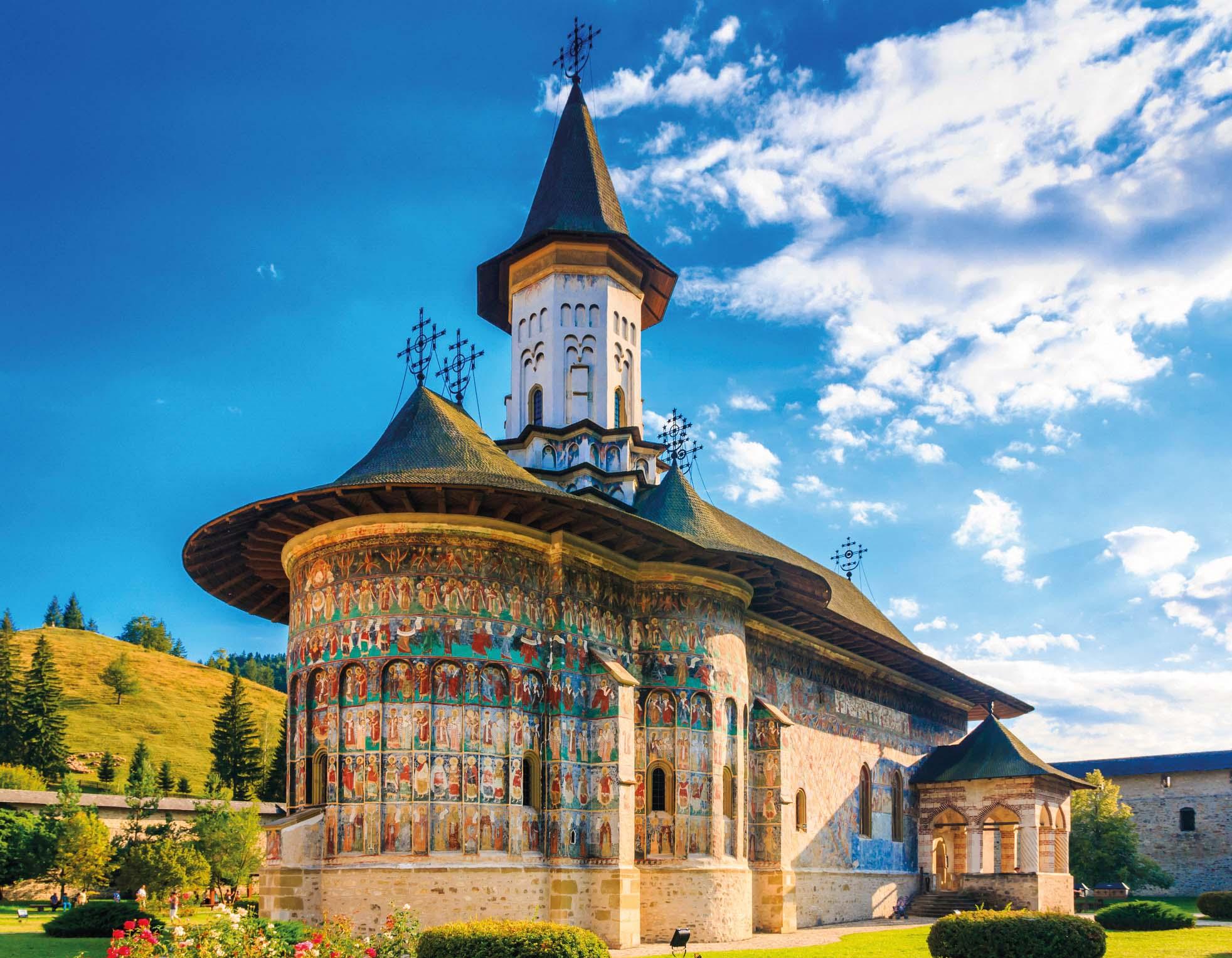 Rumänien, Moldaukloster