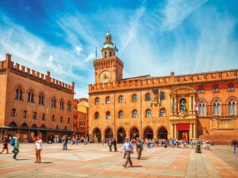 Romagna, Bologna, Piazza Maggiore