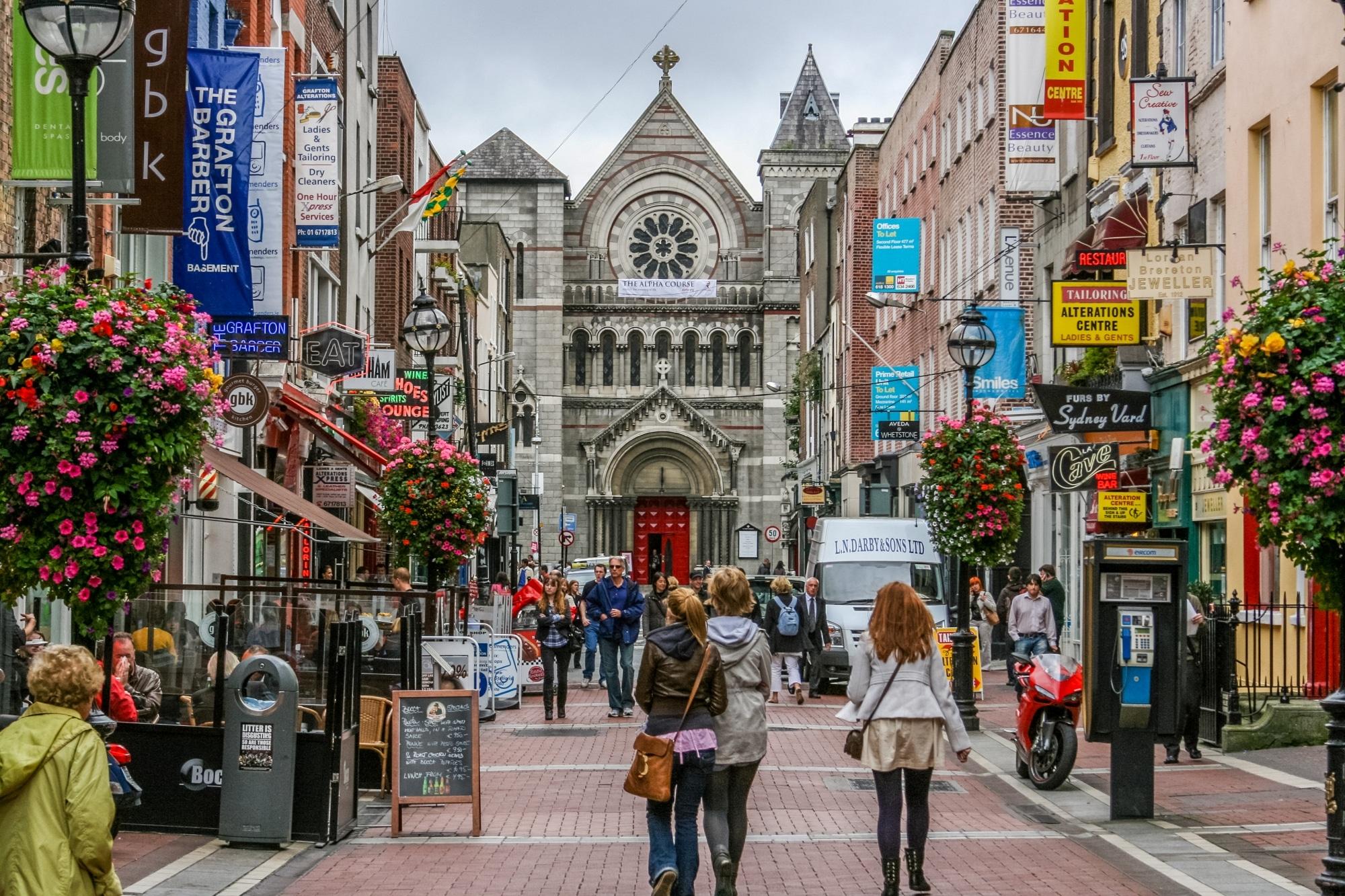 Irland, Dublin, Grafton Street