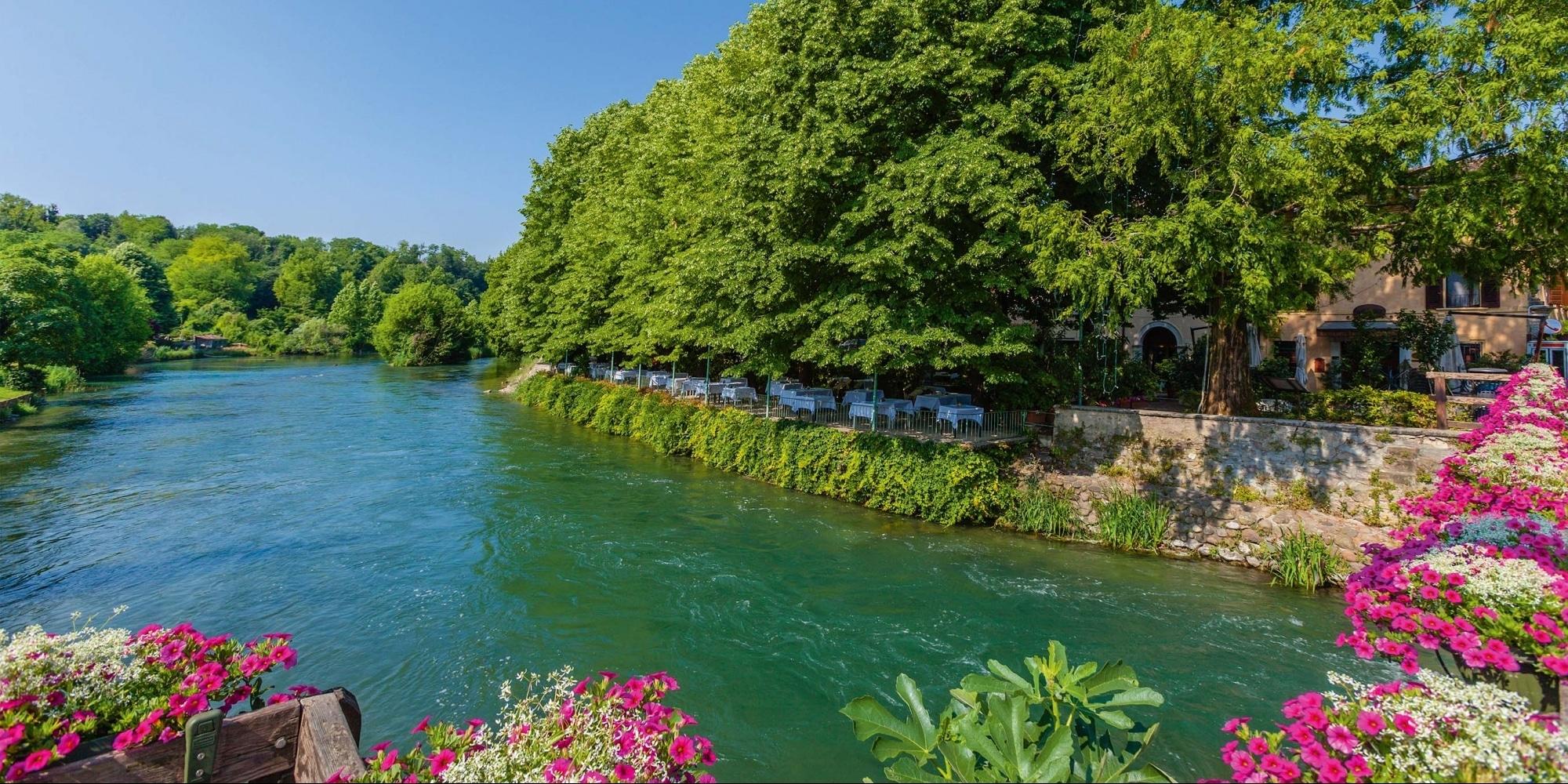 Mincio Radweg, Fluss