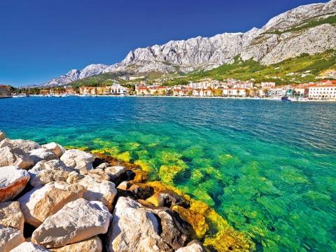 Makarska, Küste