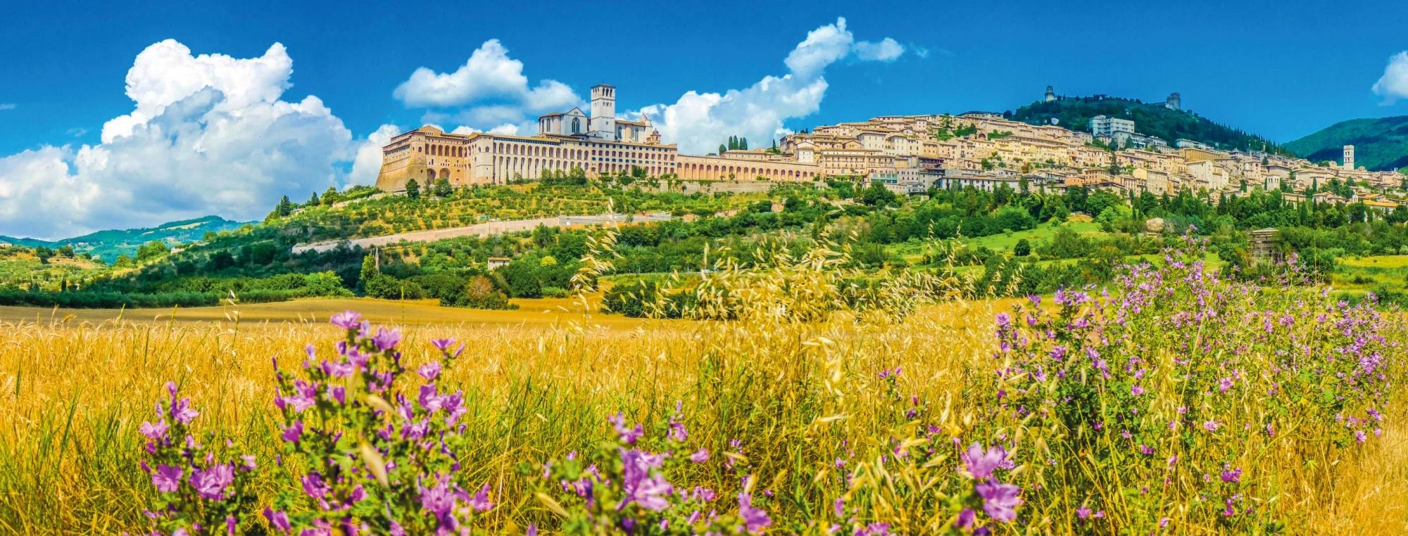 Franziskusweg, Assisi