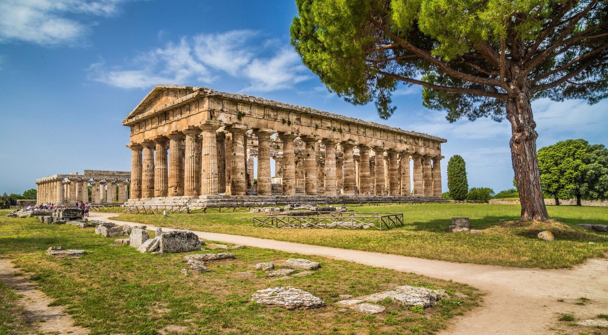 Amalfi, Tempel der Hera Paestum ©Shutterstock