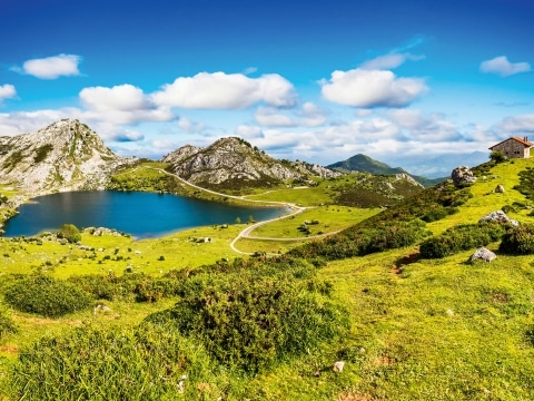 Asturien, Lake Enol