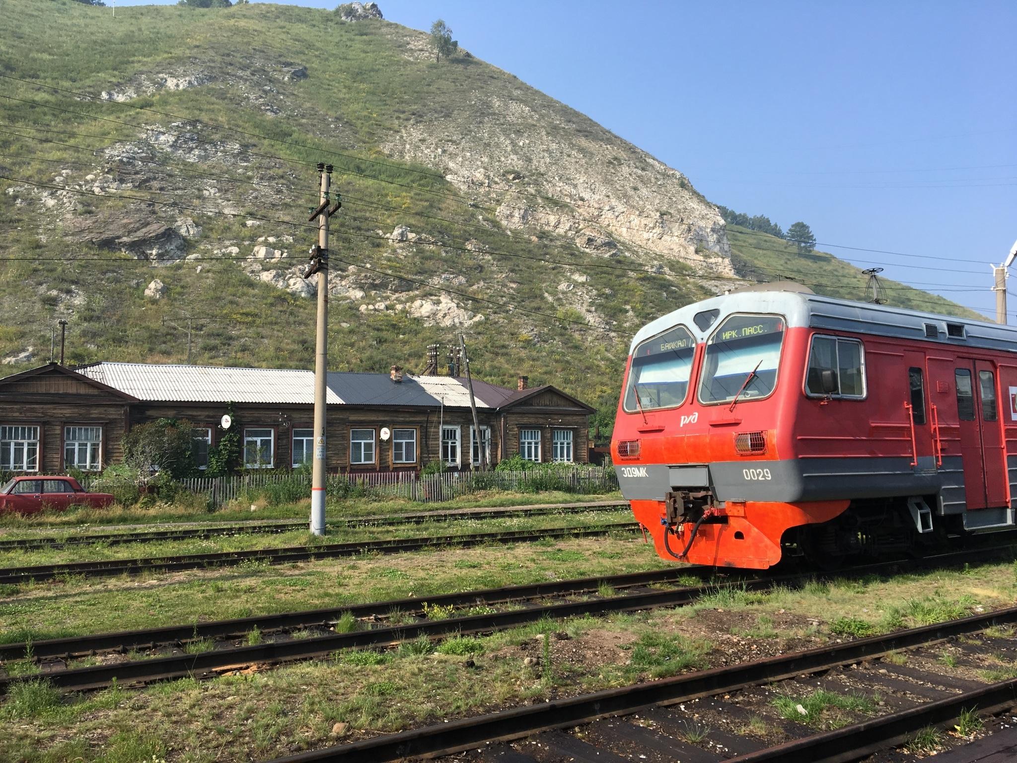 Transsibirische Eisenbahn, Baikalbahnstrecke
