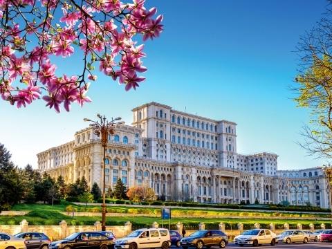 Rumänien, Bukarest, Parlamentspalast