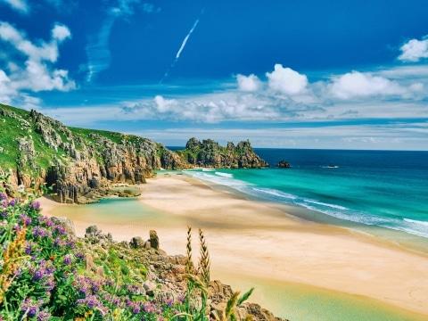 Cornwall, Pedn Vounder Beach