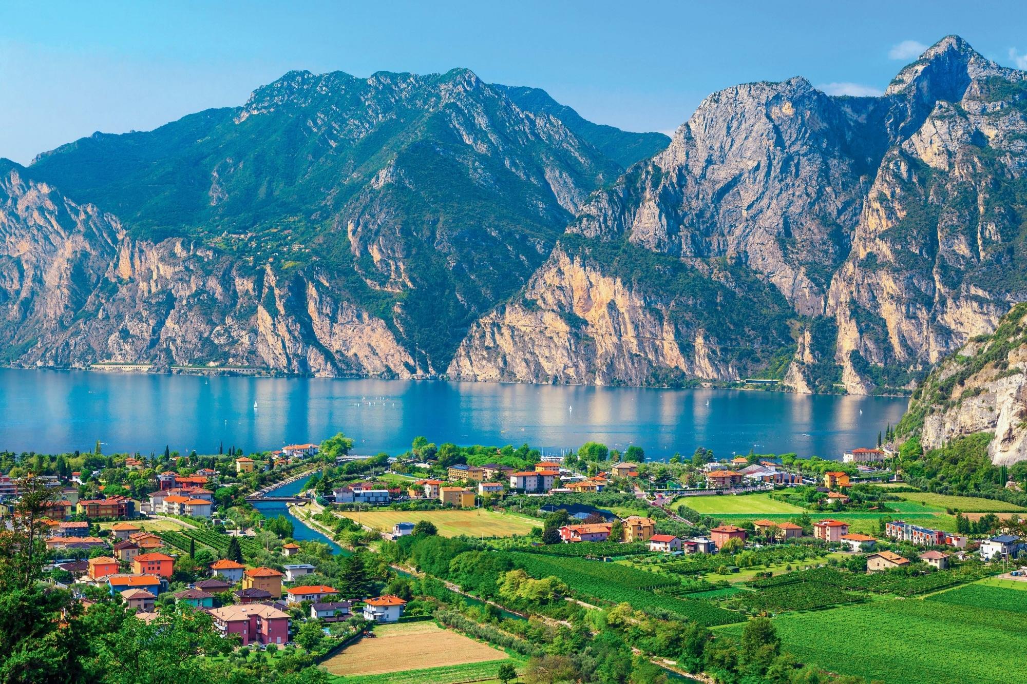 Gardasee, Blick von Torbole