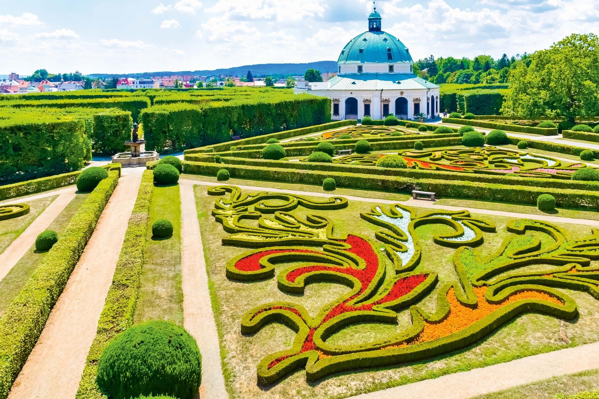 Südmähren, Gärten von Kromeriz
