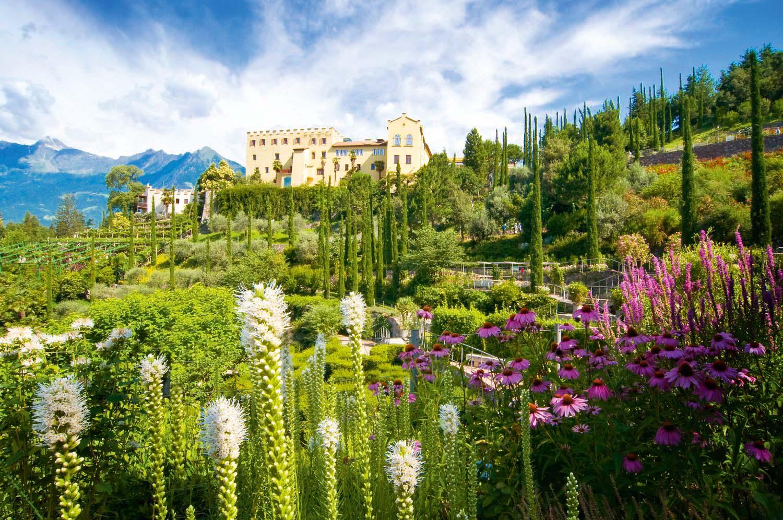 Südtirol, Gärten Schloss Trauttmannsdorff