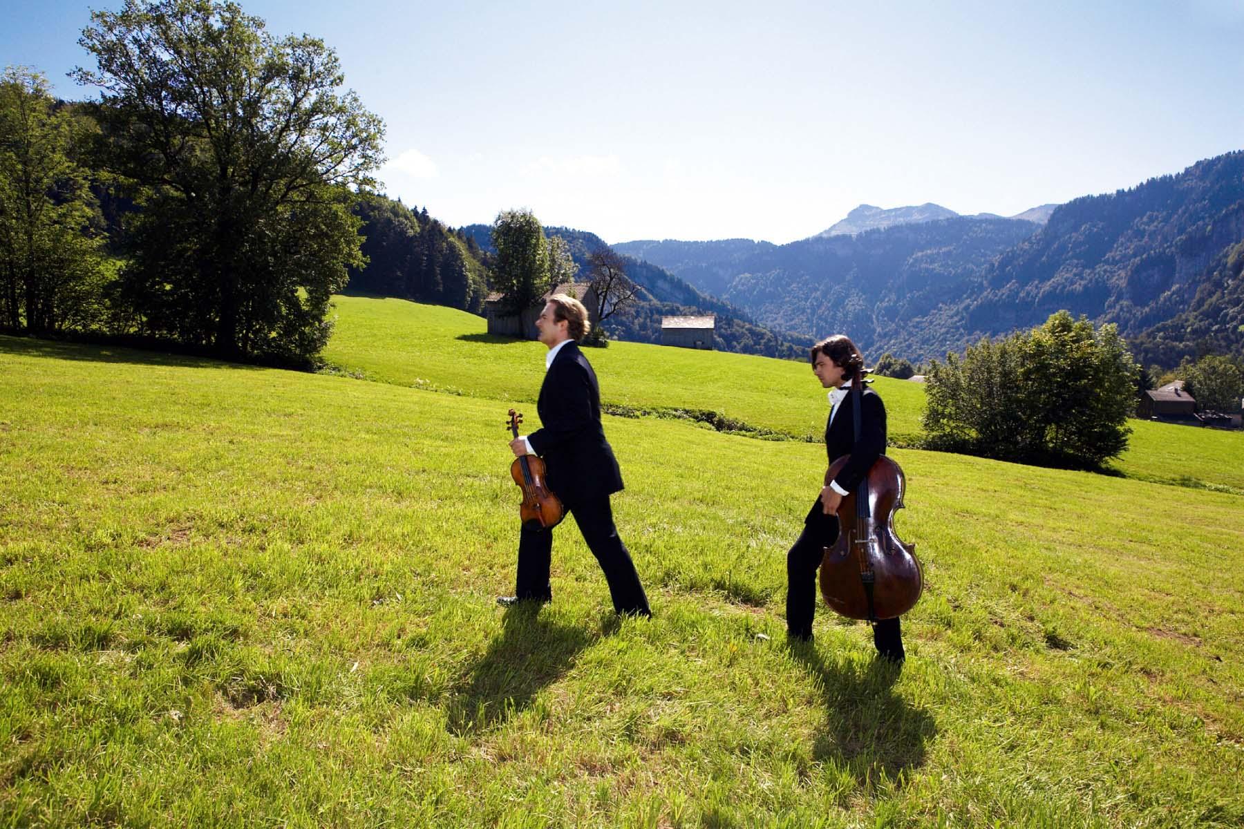 Musiker Schubertiade © Christoph Lingg - Bregenzerwald Tourismu