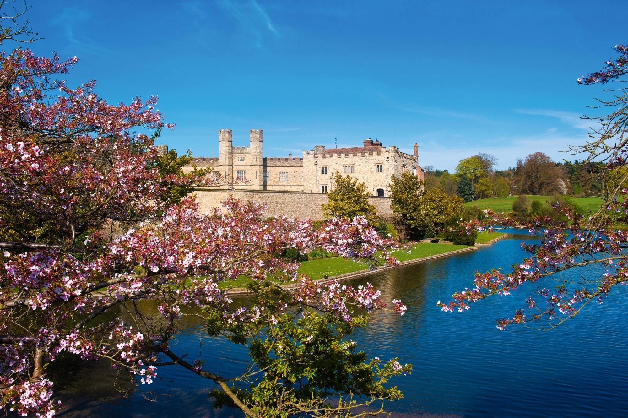 Südostengland, Leeds Castle in Kent