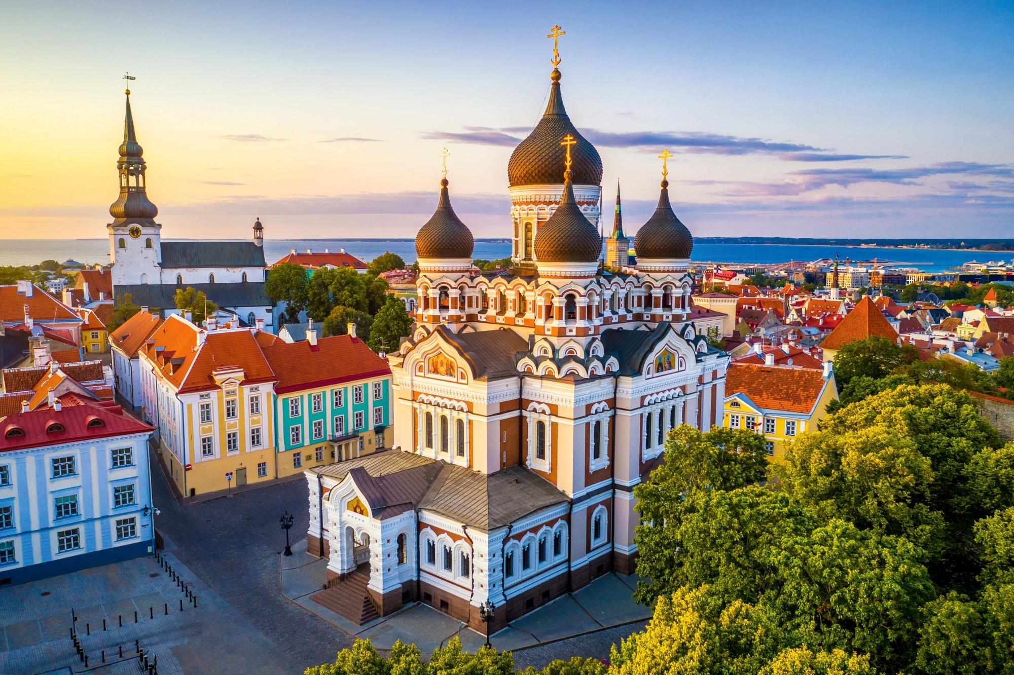 Tallin, Alexander Nevsky Kathedrale