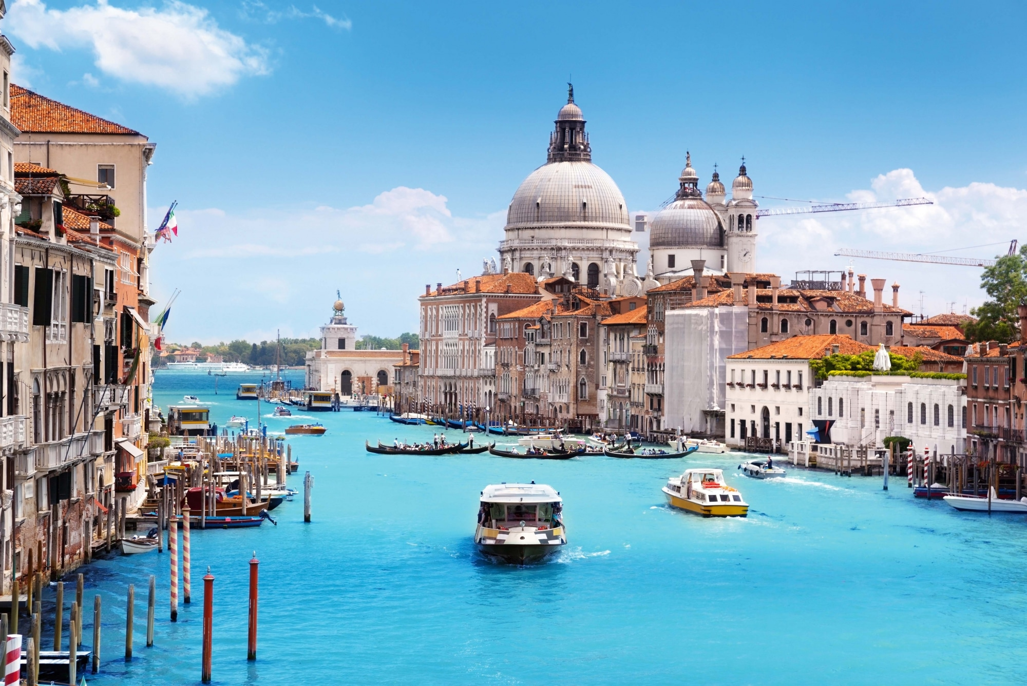Venedig, Canale Grande, Basilica Santa Maria della Salute,