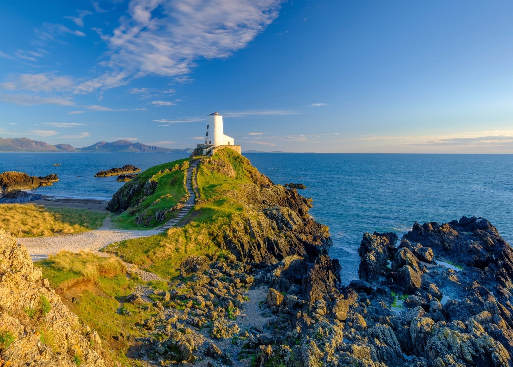 Wales, Leuchtturm, Anglesey
