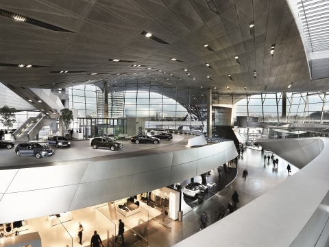BMW Welt_Innenansicht © BMW AG