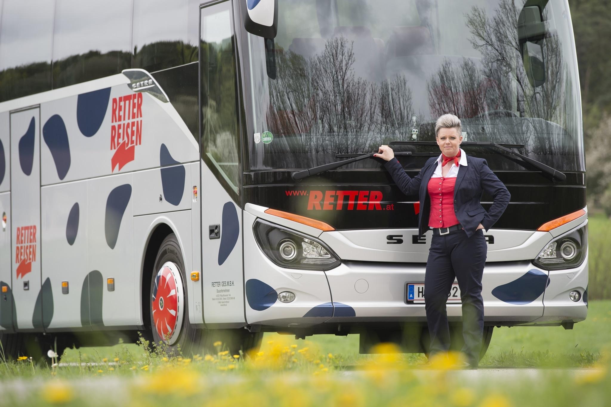RETTER Luxus-Reisebus