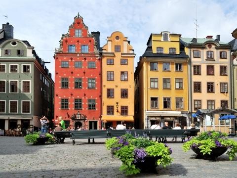 Stockholm, Altstadt © Fotolia