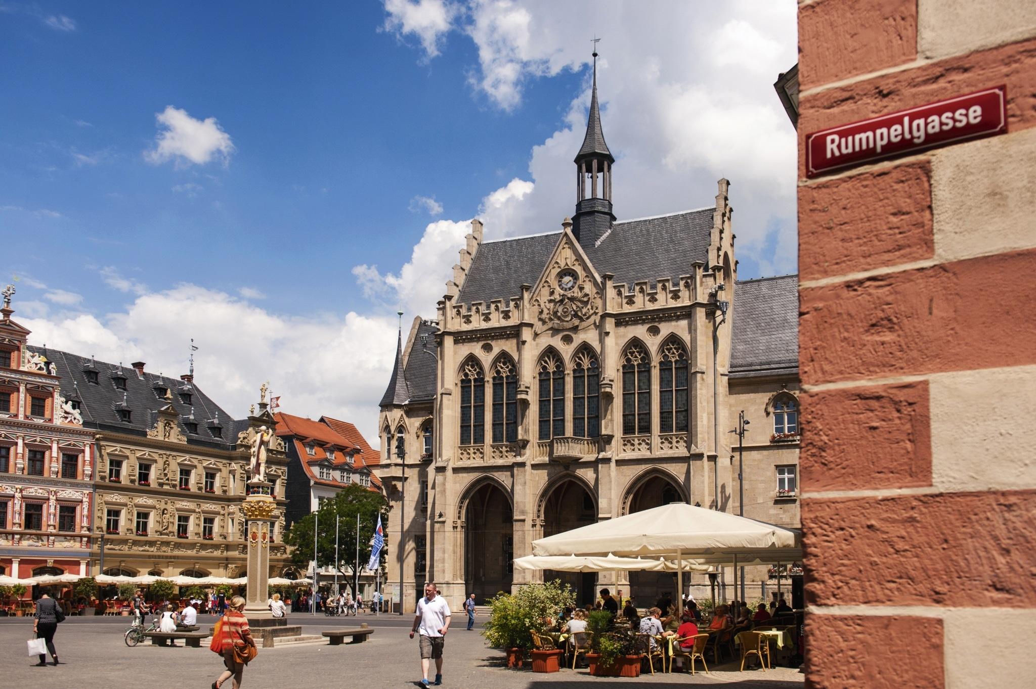 Erfurt, Rathaus ©Thüringer Tourismus GmbH