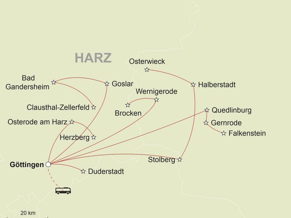 Harz © stepmap