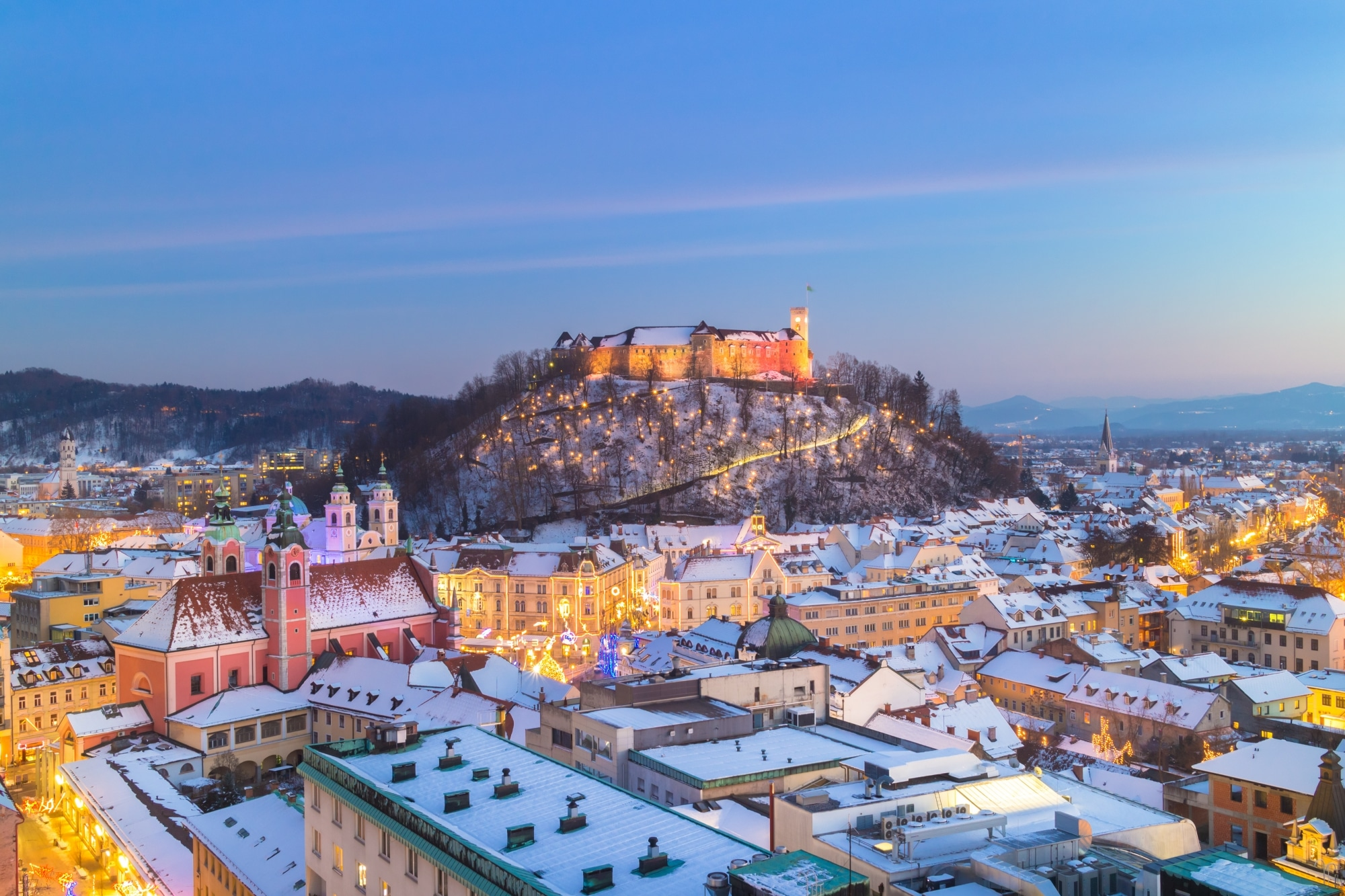 Ljubljana im Advent (c) Adobe Stock