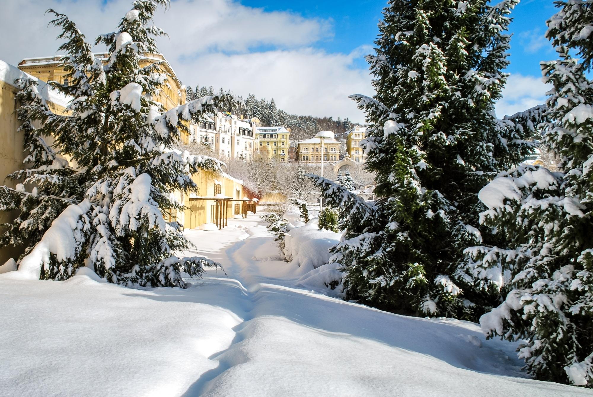 Marienbad im Winter (c) Adobe Stock