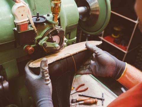 Waldviertler Schuhproduktion©GEA Waldviertler