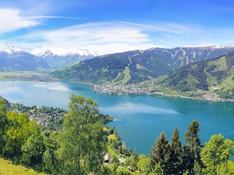Blick auf den Zeller See © adobestock
