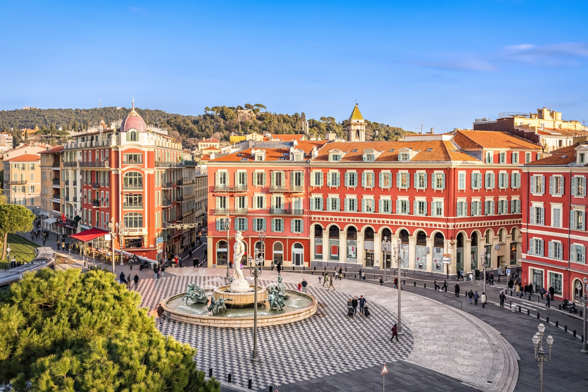 Place Massena Nizza © adobestock