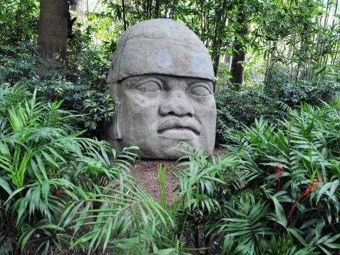 Mexiko, Olmekischer Kopf
