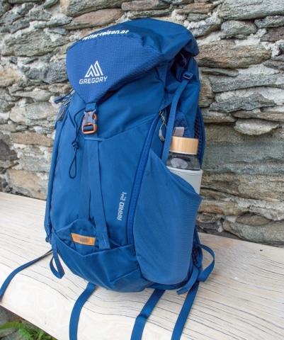 RETTER-Wanderrucksack blau